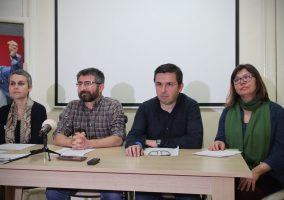 Esra Mungan, Muzaffer Kaya, Kıvanç Ersoy and Meral Camcı are academics currently held in pre-trial detention in Istanbul after they held a press conference on 10 March 2016, reiterating their support for a statement they had signed in January. The appeal for peace criticizing ongoing curfews and security operations in south eastern Turkey and calling for a resumption of peace talks between Turkey and the armed Kurdistan Workers' Party (PKK) initially attracted 1,128 academics across Turkey. A further 1,084 academics since signed to appeal, bringing the total to 2,212 signatories.